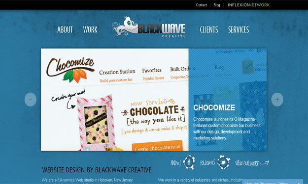 black-wave-creative-blue-website