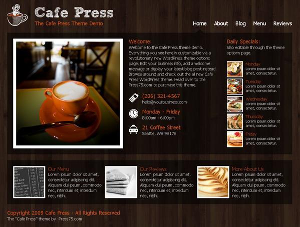 CAFE PRESS WP
