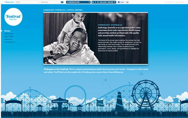 festival-creative-blue-website