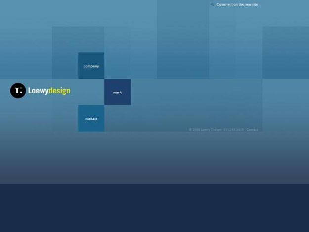 loewy-design-blue-website