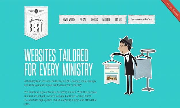 sunday-best-design-blue-website