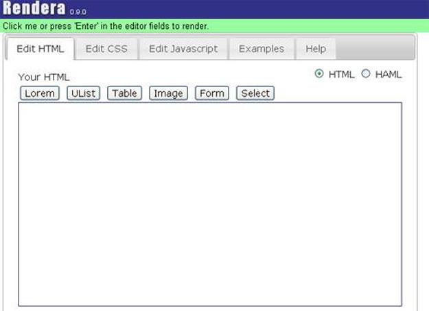 Rendra-HTML