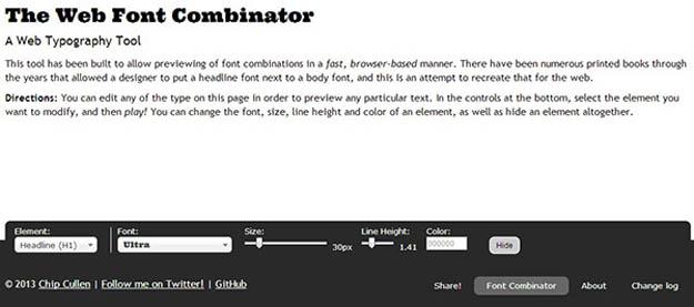 font-combinator