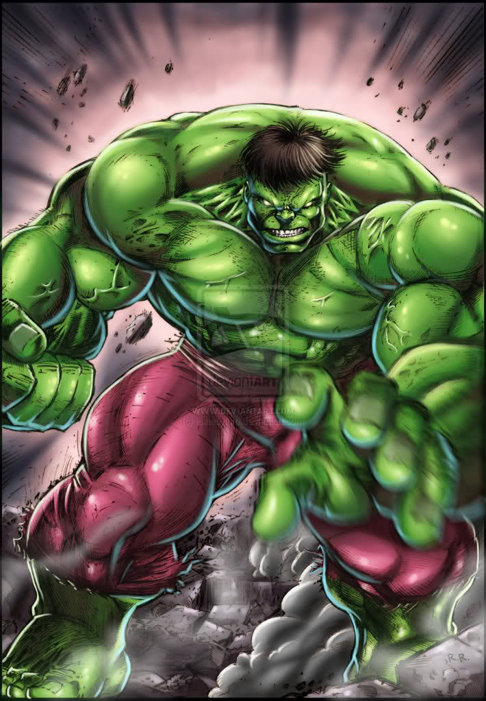 Incredible Hulk- Fan Art
