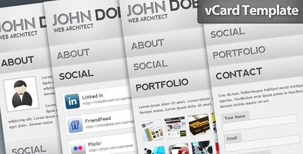 wp v card themes