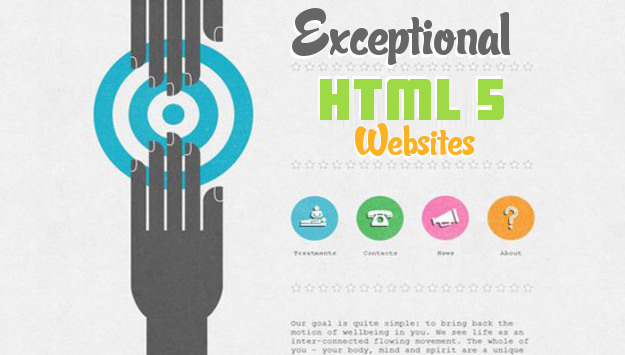 30 Exceptionally Designed HTML 5 Websites