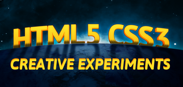 30 CSS3 and HTML5 Creative Experiments