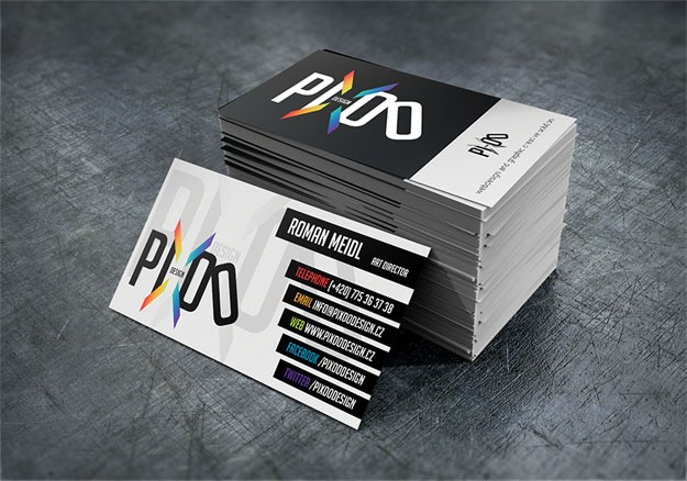 pixoo-design-business-card