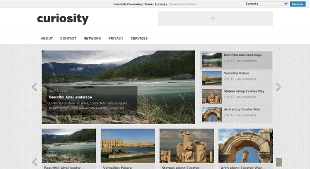 curiosity-wordpress-theme