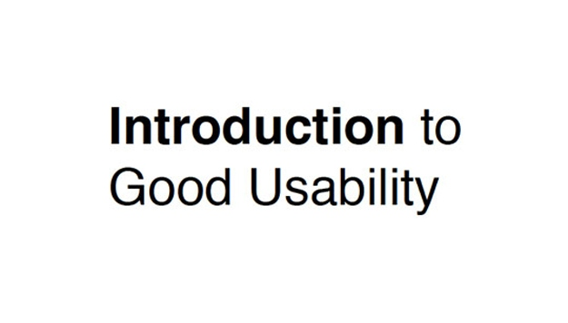 introduction-to-good-usability