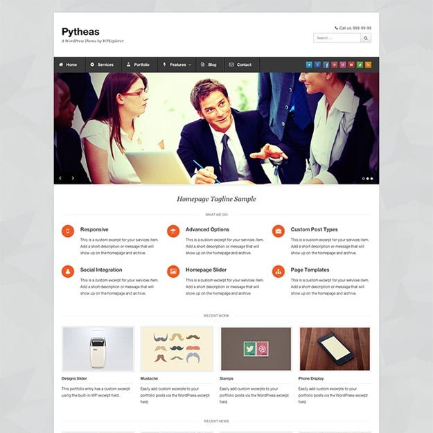 pytheas-free-business-wordpress-theme