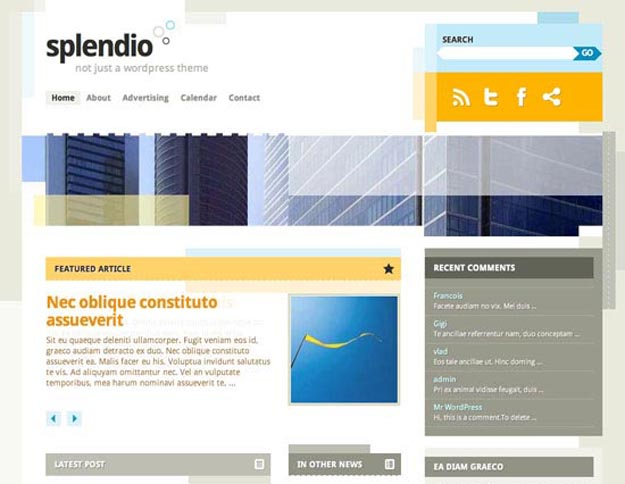 splendio-wordpress-theme