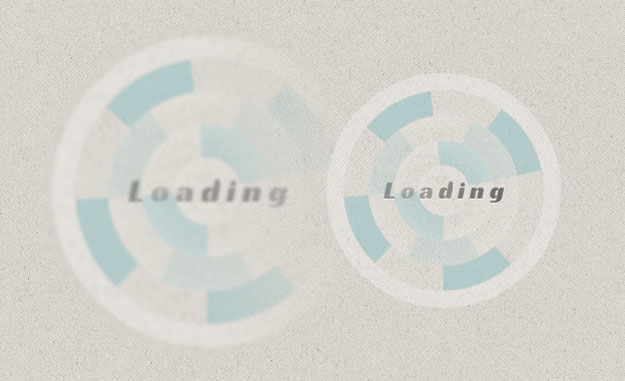 creative css loading animation