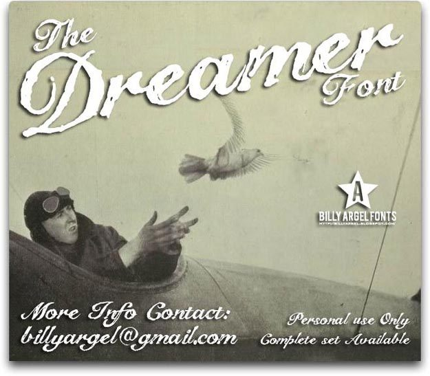the-dreamer-retro-font