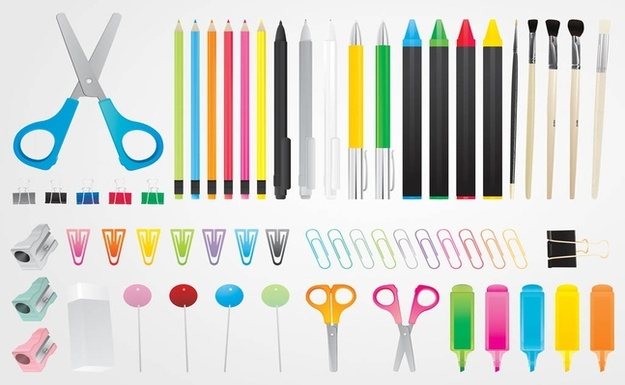 free vectors stationary graphics