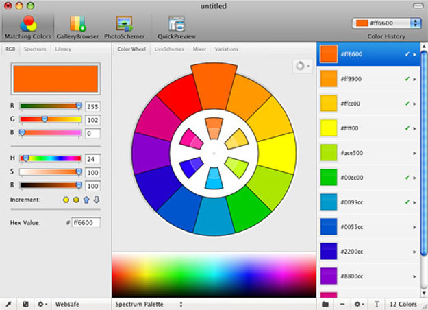 10 Online Tools for Designers to Choose the Correct Color Scheming