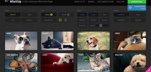 15 New jQuery Plugins for Developers