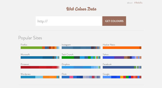 web-color-data
