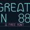 Collection of 30 Free Fonts for Designers